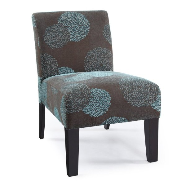Sunflower Deco Accent Chair Blue