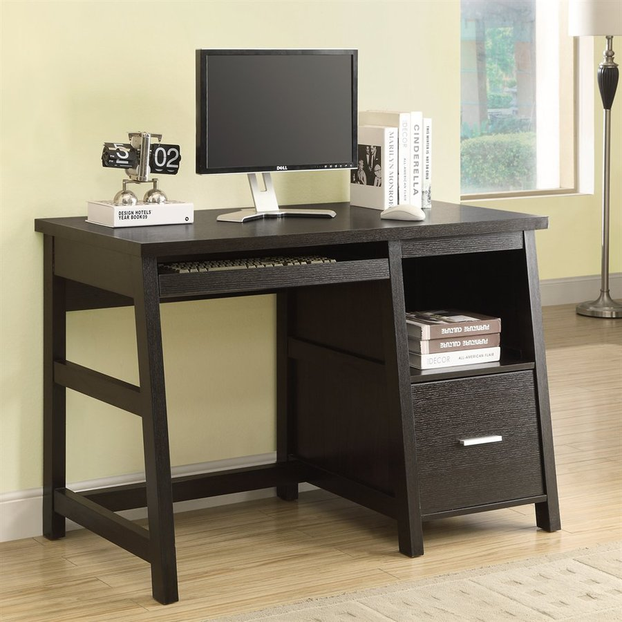 Shop Monarch Specialties Cappuccino Computer Desk at Lowescom