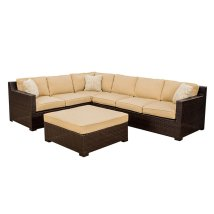 Hanover Outdoor Furniture Metropolitan 5-piece Wicker