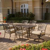 Hanover Outdoor Furniture Traditions 7-piece Bronze