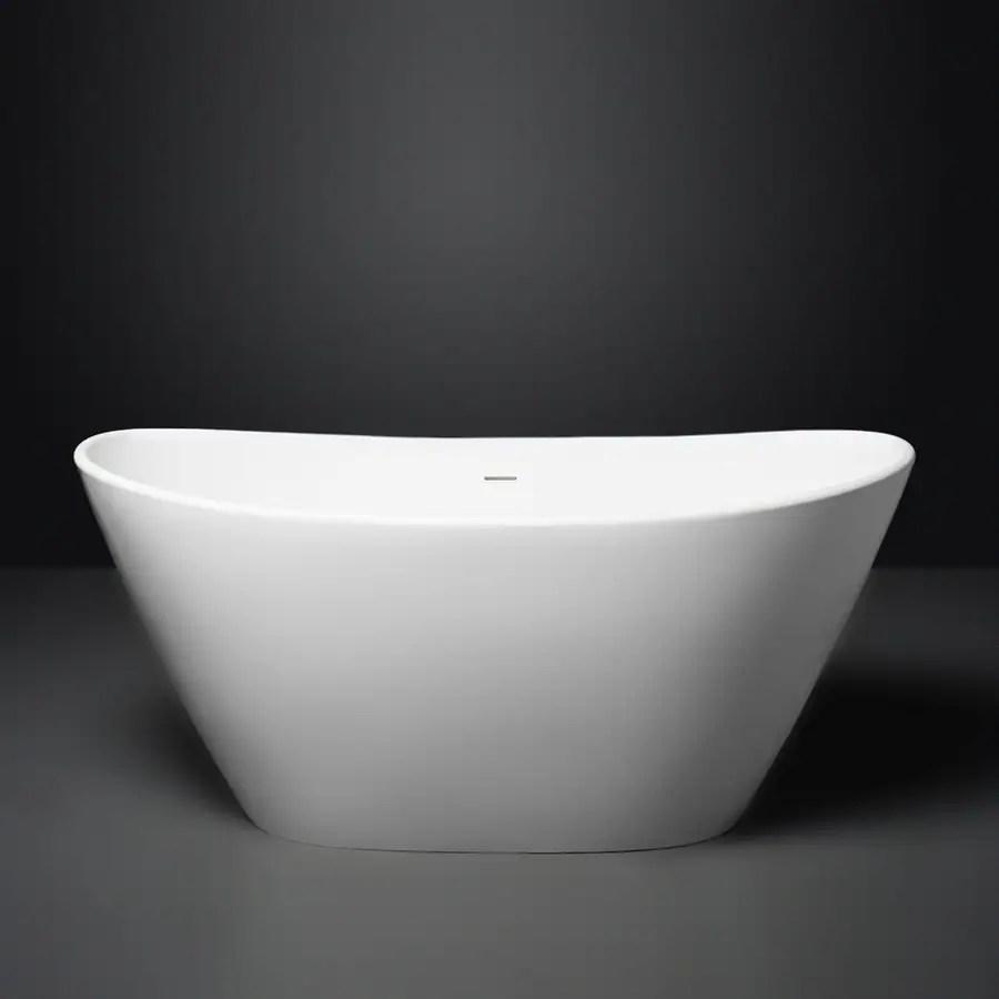 Shop Aquatica PureScape AquaStone 63 In Matte White