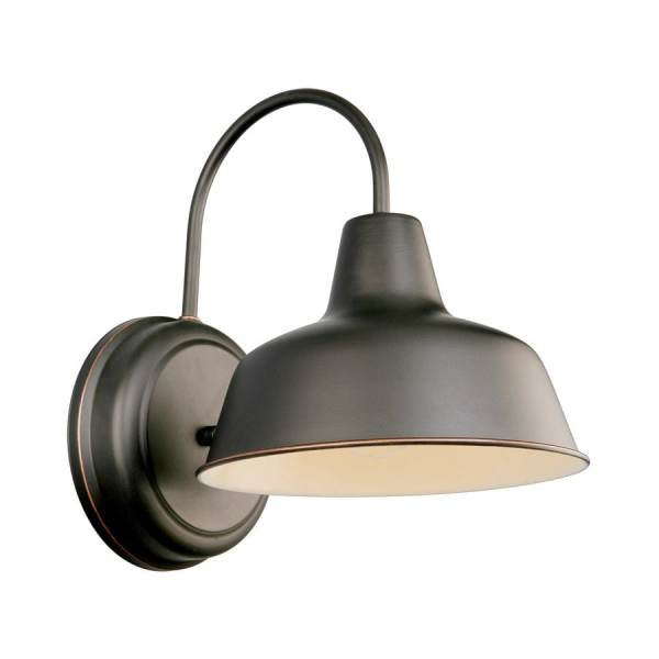 Oil Rubbed Bronze Outdoor Wall Light