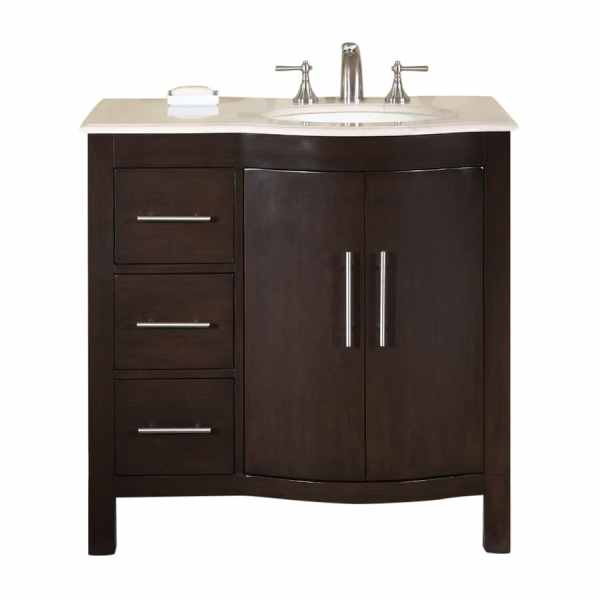 36 Single Sink Bathroom Vanities with Top