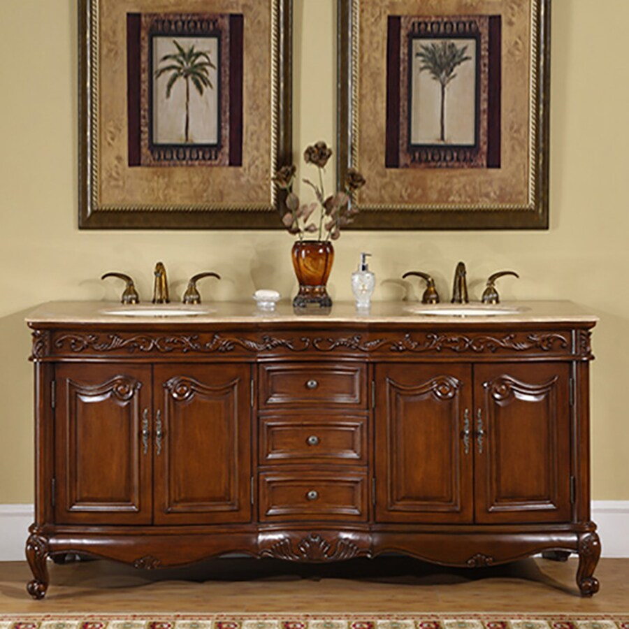 Silkroad Exclusive Ella English chestnut Double Sink