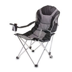 Lowes Camping Chairs Chair Hunting Blind Picnic Time Black Steel Folding At Com