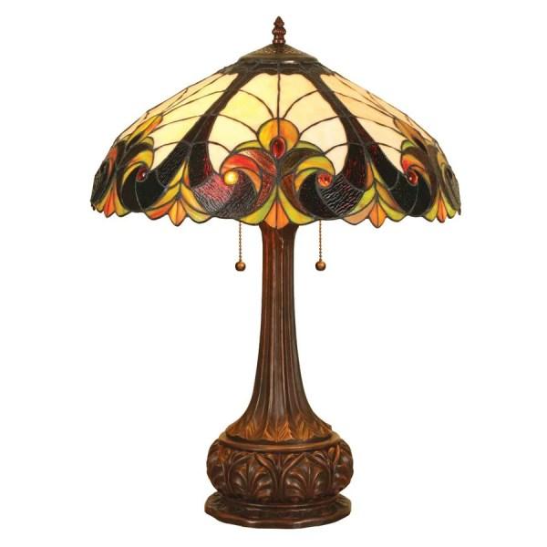 Chloe Lighting Victorian 24-in Dark Antique Bronze Table