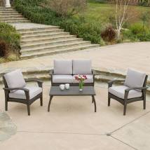 Selling Home Decor Honolulu 4-piece Wicker Patio