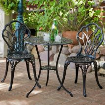 Selling Home Decor Nassau 3-piece Black Metal