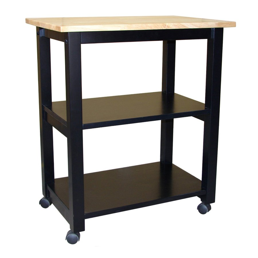modern kitchen cart china pack international concepts black carts at lowes com