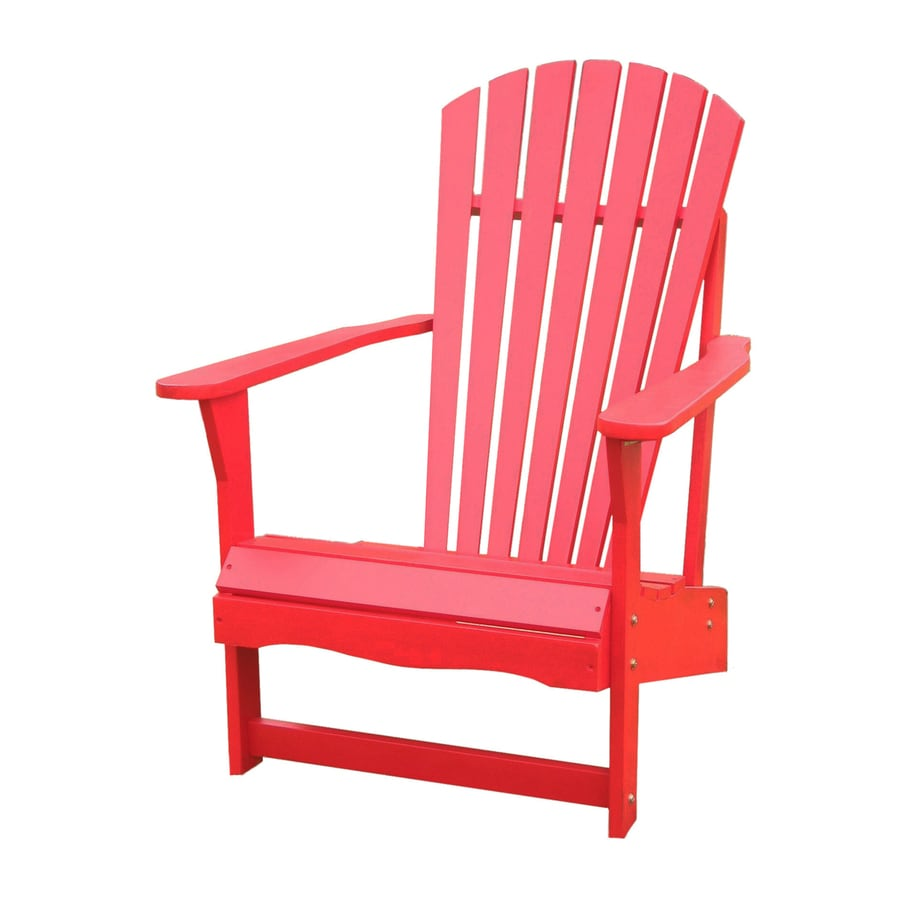 Shop International Concepts Red Acacia Patio Adirondack