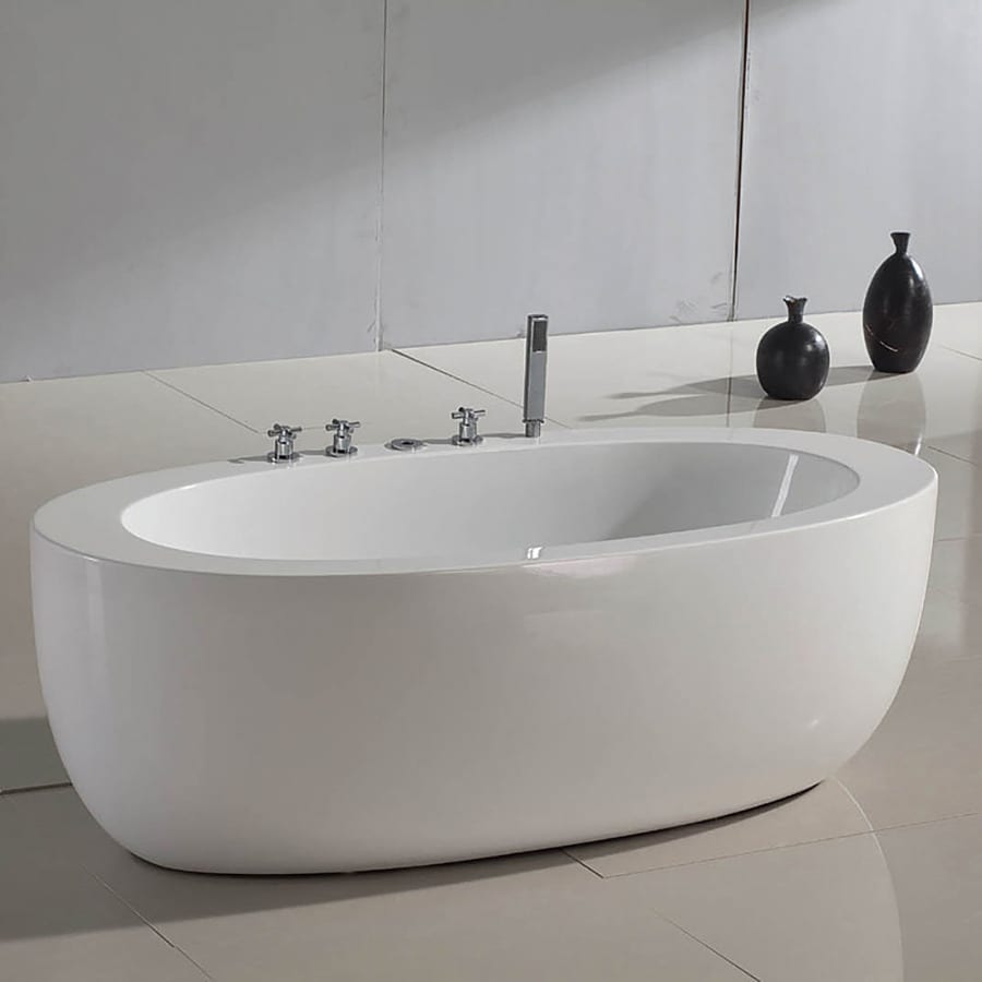 Aquatica Purescape 6875 In White Acrylic Tub With Center