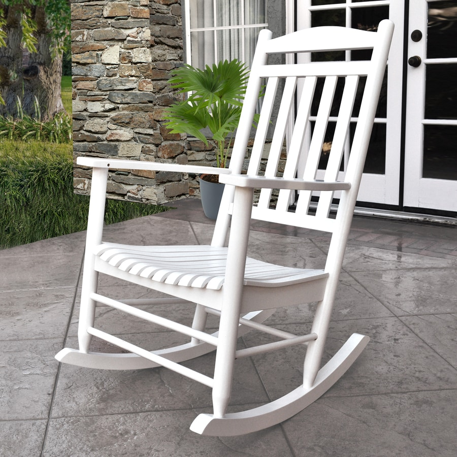 Shine Company Maine Cedar Rocking Chair with Slat at Lowescom