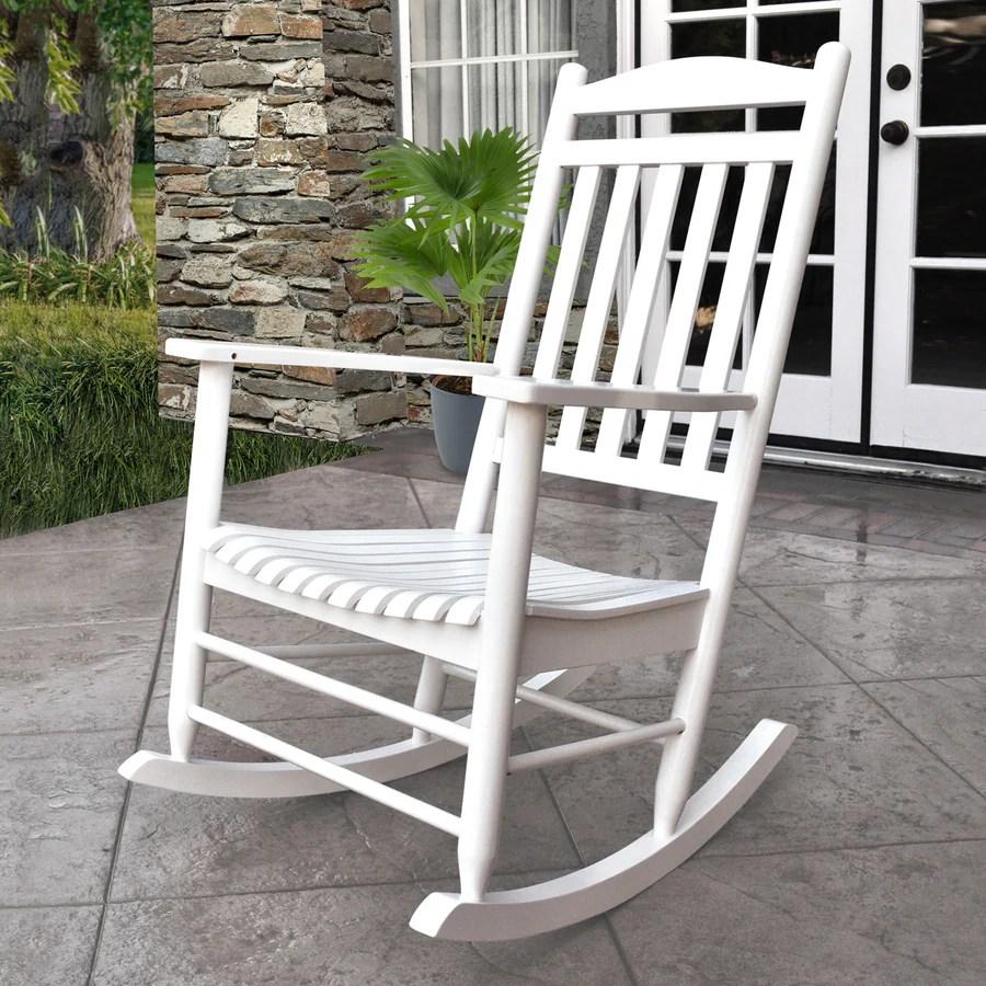 cedar rocking chairs diy chair cushion upholstery shine company maine with slat at lowes com