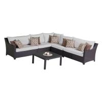 Shop RST Brands Deco 6-Piece Wicker Frame Patio ...