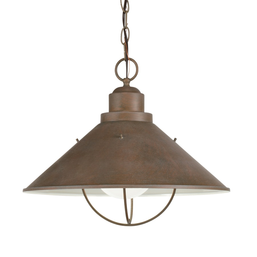 Shop Kichler Seaside Olde Brick Traditional Cone Pendant