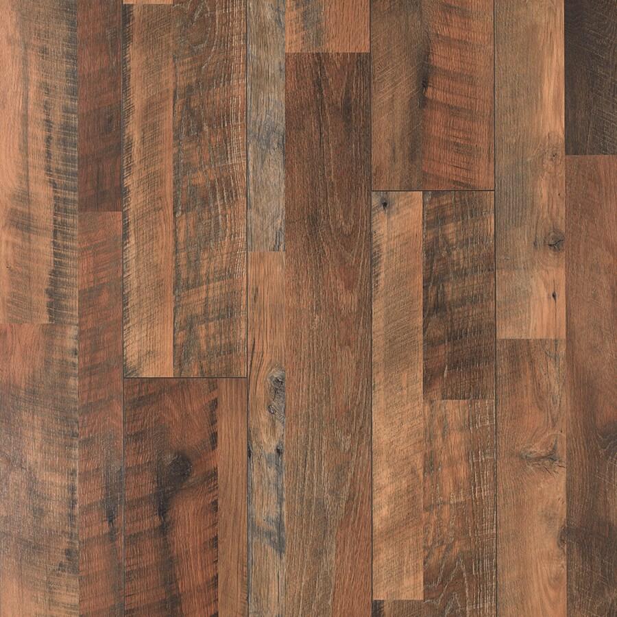 Pergo Max River Road Oak Wood Planks Laminate Flooring Sample at Lowescom