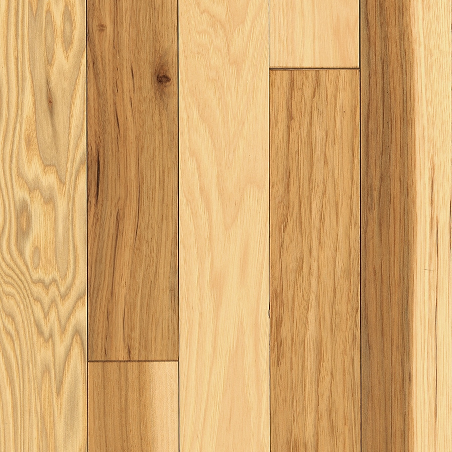 Mohawk Hickory Hardwood Flooring Sample Country natural