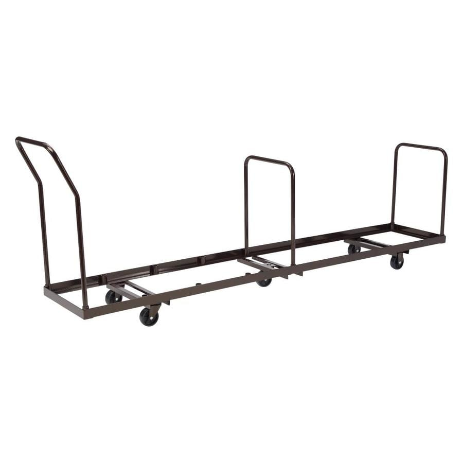 folding chair dolly 50 capacity swivel base for shop national public seating 38.5-in utility cart at lowes.com