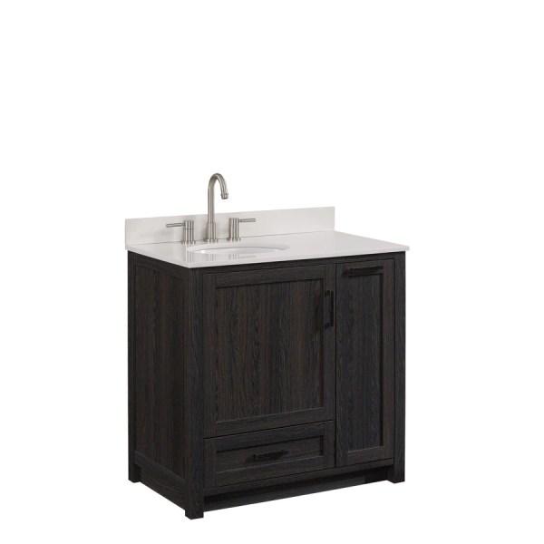 Single Sink Bathroom Vanity with Top