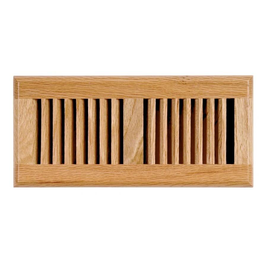 Accord Oak Light Oak Floor Register Duct Opening 2in x