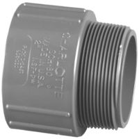 Shop Charlotte Pipe 1-in dia PVC Sch 80 Adapter at Lowes.com