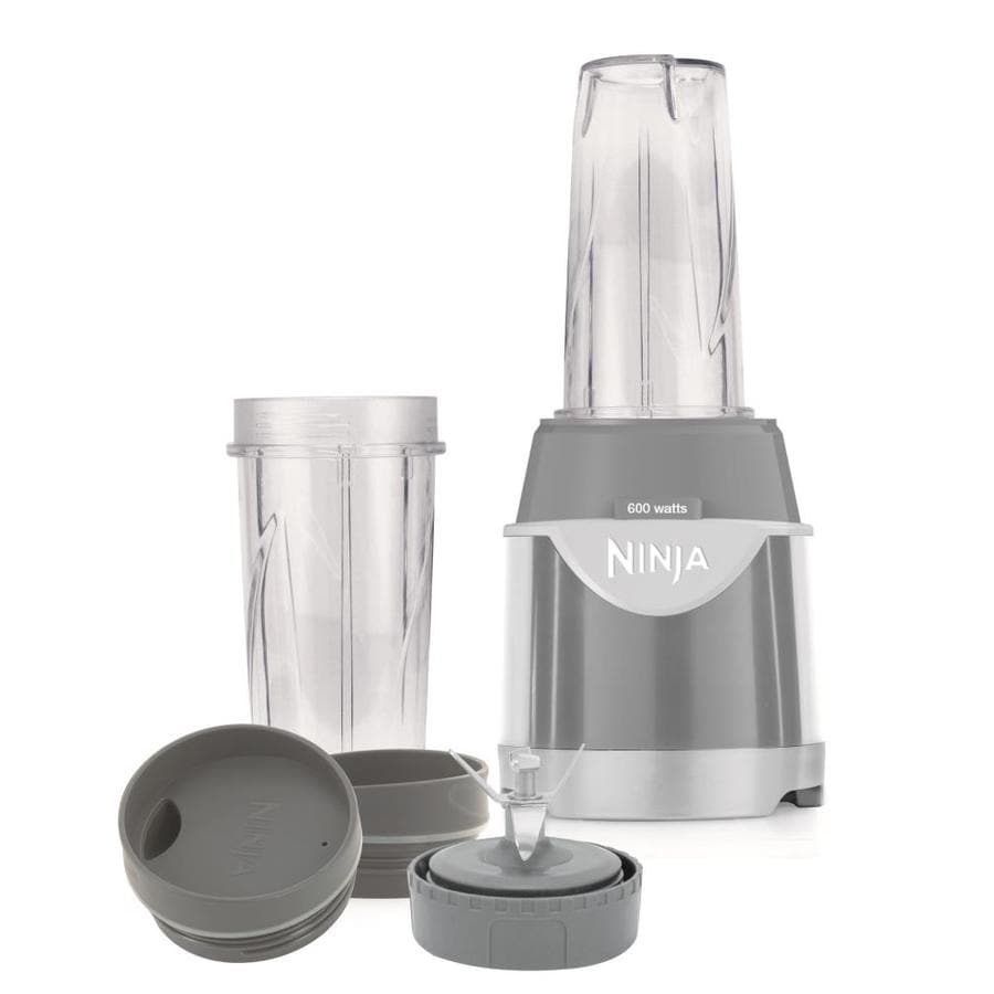 ninja kitchen system pulse two seat table 16 oz gray 1 speed 600 watt control blender