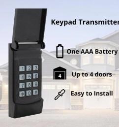 skylink wireless rolling code garage door opener keypad [ 900 x 900 Pixel ]