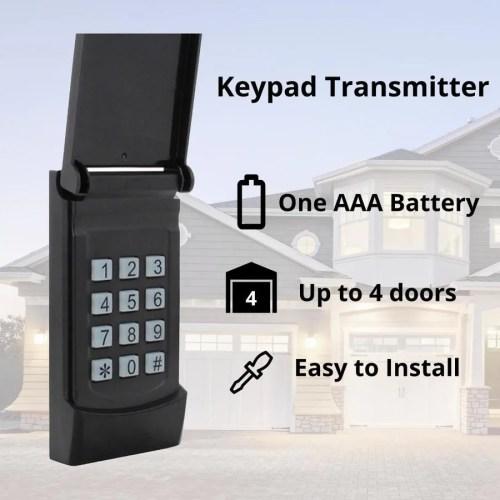 small resolution of skylink wireless rolling code garage door opener keypad