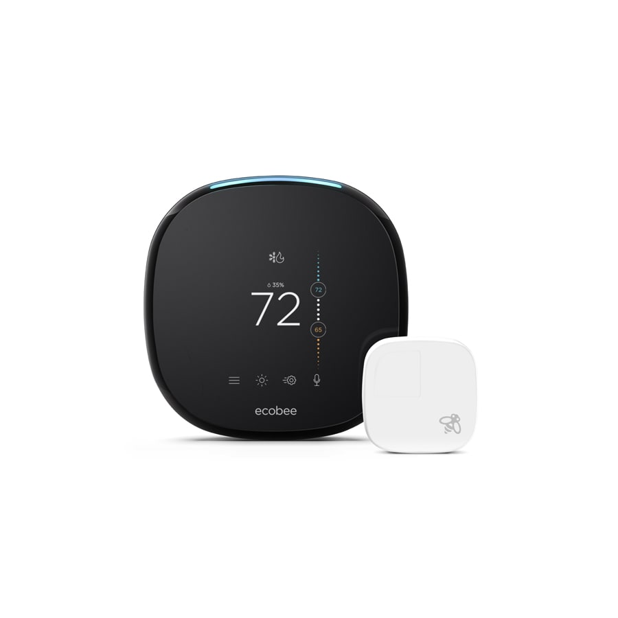 medium resolution of ecobee 4 thermostat with built in wifi