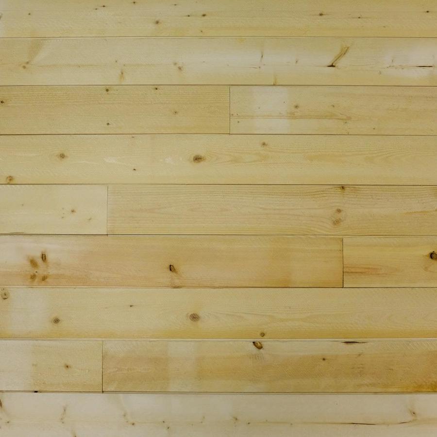 Rough Cut Pine Walls