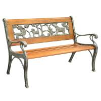 Shop Garden Treasures 32-in L Patio Bench at Lowes.com