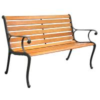 Shop Garden Treasures 50.5-in L Patio Bench at Lowes.com