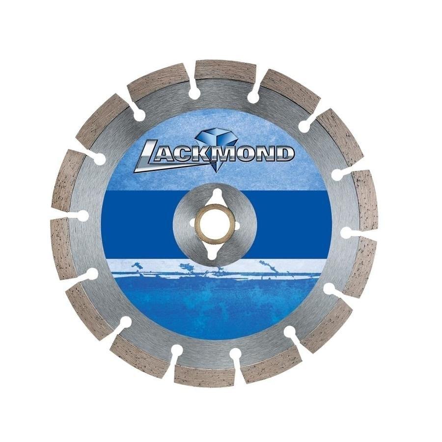 lackmond 7 in 12 tooth wet or dry segmented diamond concrete saw blade
