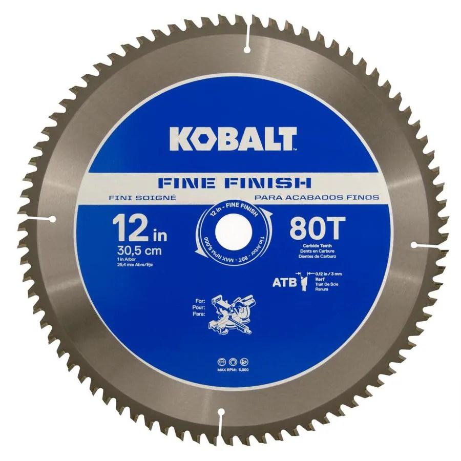 Kobalt 12 Miter Saw Blade
