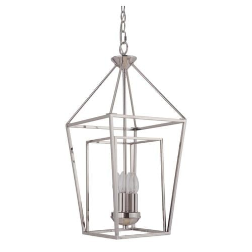 Craftmade Hudson 4-Light Polished Nickel Transitional
