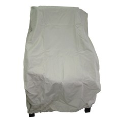 Taupe Chair Covers Office For Sciatica Uk Garden Treasures Conversation Cover At Lowes Com