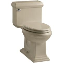 Gravity Lawn Chair Folding Storage Hooks Shop Kohler Memoirs 1.28-gpf (4.85-lpf) Mexican Sand Elongated Height 1-piece Toilet At ...