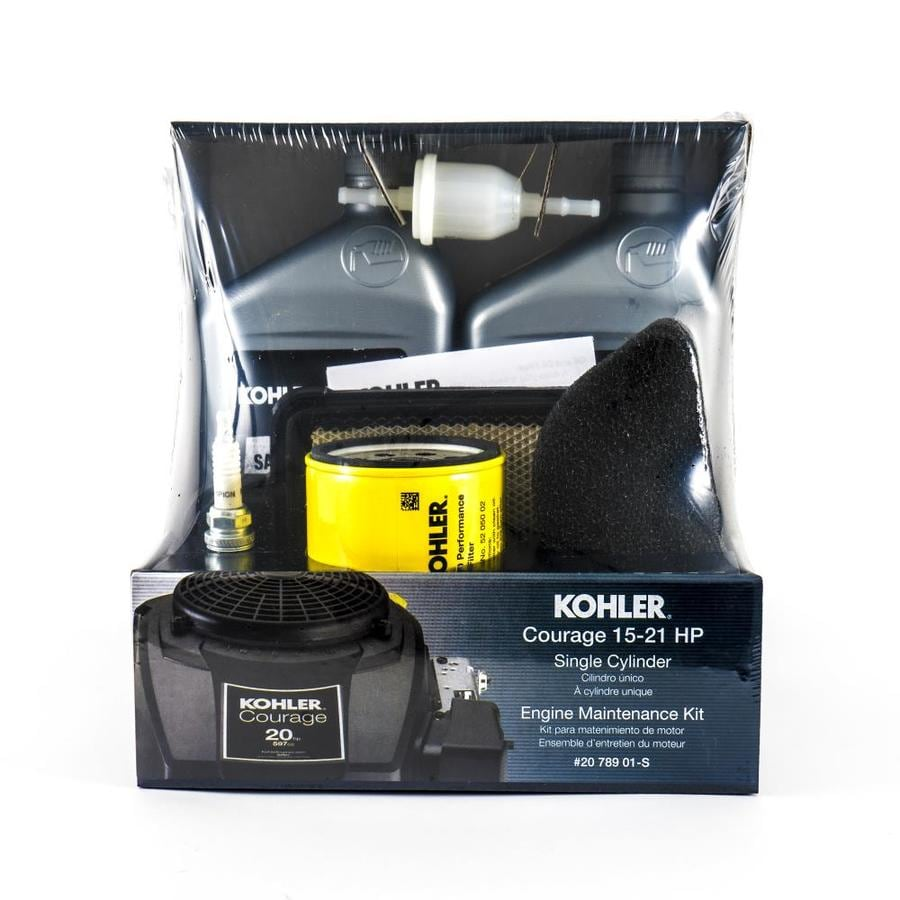 hight resolution of kohler riding mower tractor maintenance kit