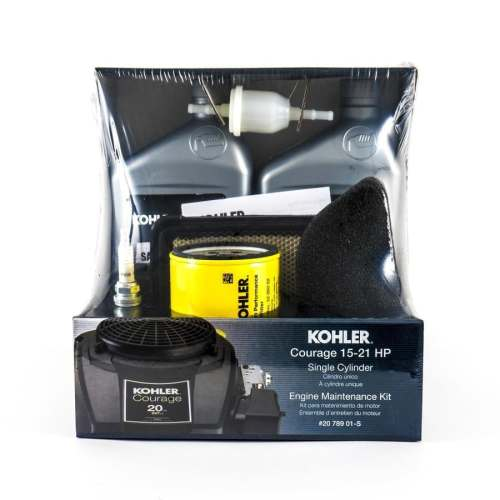 small resolution of kohler riding mower tractor maintenance kit