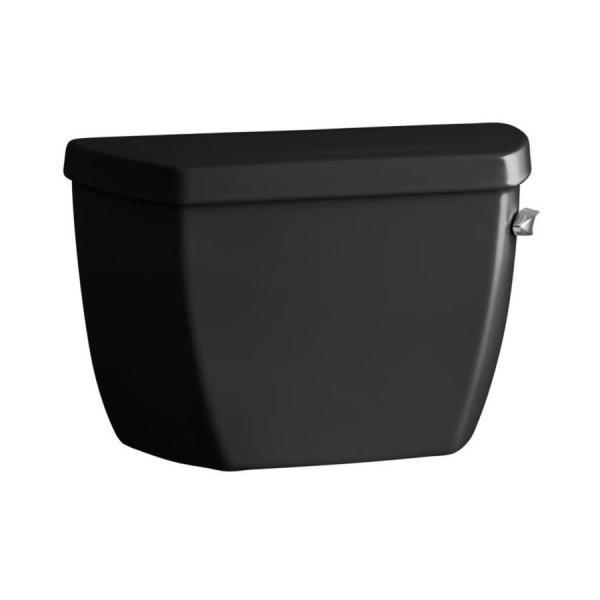 Kohler Highline Classic Black 1.0-gpf Single-flush High-efficiency Toilet Tank