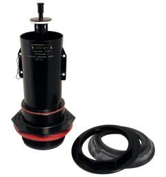 kohler wellworth and highline plastic 3 in flush valve assembly for kohler [ 900 x 900 Pixel ]