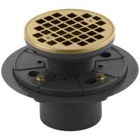 Shop KOHLER Gold Brass Shower Drain at Lowes.com