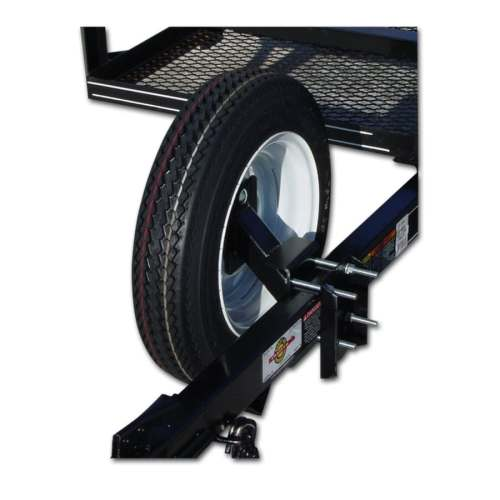 small resolution of carry on trailer spare tire wheel carrier