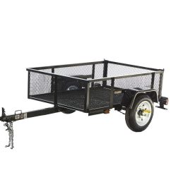 carry on trailer 3 5 ft x 5 ft wire mesh utility trailer at lowes com [ 900 x 900 Pixel ]