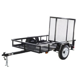 carry on trailer 4 ft x 7 ft wire mesh utility trailer with rampcarry on trailer [ 900 x 900 Pixel ]