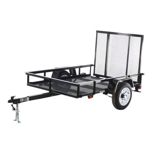 small resolution of carry on trailer 4 ft x 7 ft wire mesh utility trailer with rampcarry on trailer