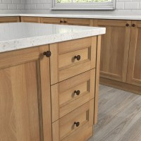 Shop allen + roth Aged Bronze Round Cabinet Knob at Lowes.com