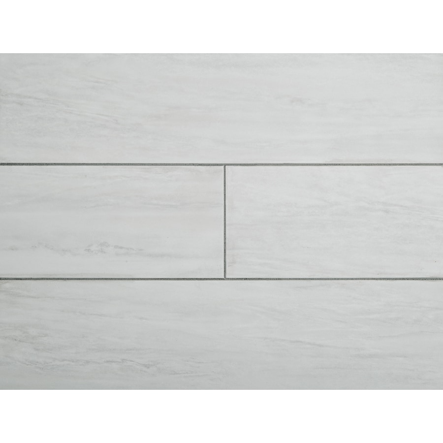 stainmaster white waza 6 in x 24 in groutable water resistant peel and stick luxury vinyl tile 1 sq ft lowes com
