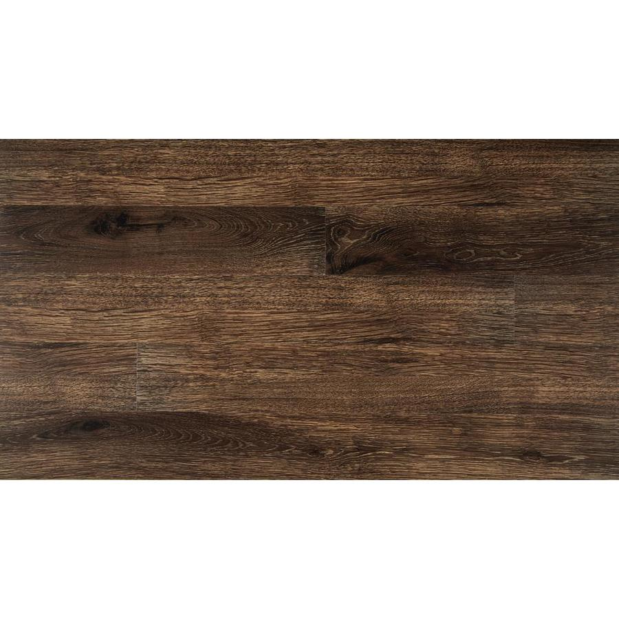 style selections old world oak wide thick water resistant peel and stick luxury 1 sq ft lowes com