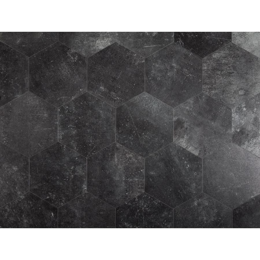 style selections obsidian 7 3 4 in x 9 in groutable water resistant peel and stick vinyl tile 0 3699 sq ft